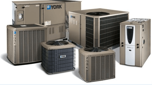 York Heating and Cooling Machines